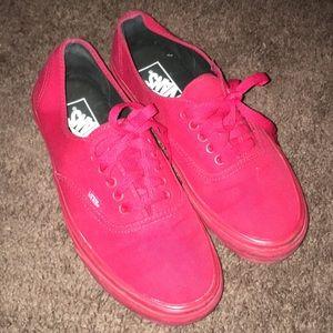 Vans (Red)